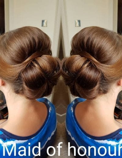 Maid of Honour Hair Styling
