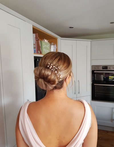 bridesmaid hair styling cumbria